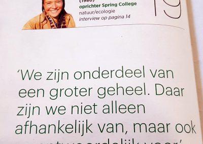 Li An Phoa - 19th on Dutch Sustainability top 100 - Trouw