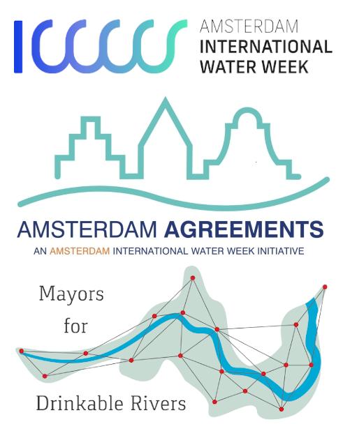 Amsterdam International Water Week - Drinkable Rivers as Amsterdam Agreement